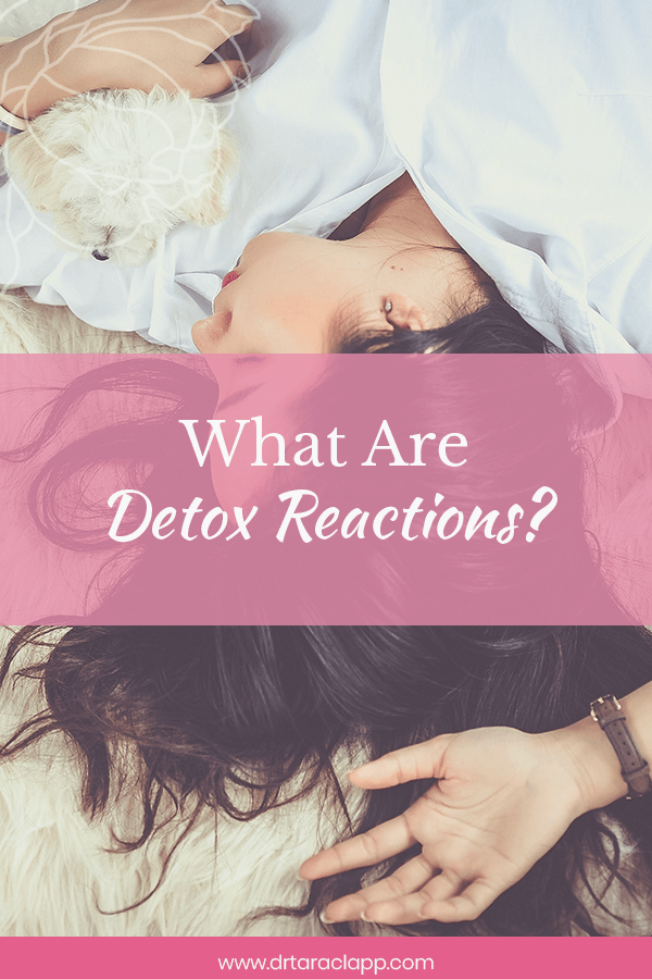 woman laying in bed - What Are Detox Reactions? Article by Dr. Tara Clapp, ND