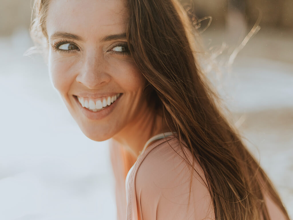 Woman Smiling - Feel Amazing - Benefit of Keto Diet Program by Dr. Tara Clapp, ND